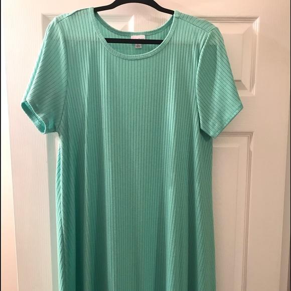 LuLaRoe Dresses & Skirts - LuLaRoe Carly Mint Lg. Beautiful NWOT